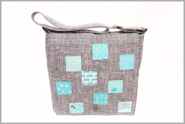 Mosaic Tiles Messenger Bag