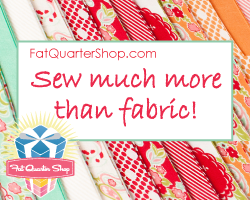 Finish Along Sponsor Highlight – Fat Quarter Shop