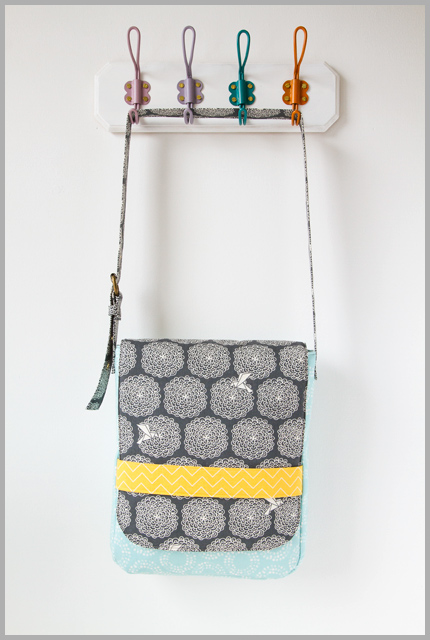 A Banded Messenger With Sew Fine Fabrics