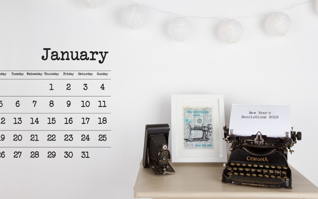 Finish Along Quarter 4 Tutorial Week – Planning Your Creative New Year