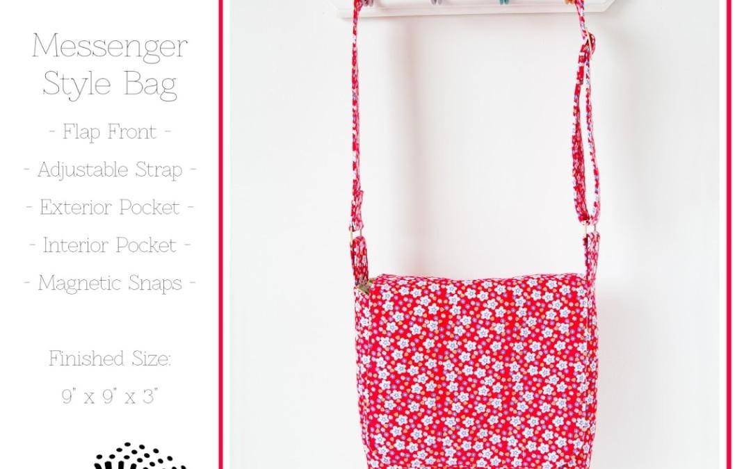 Pattern Launch – Mini Messenger Bag