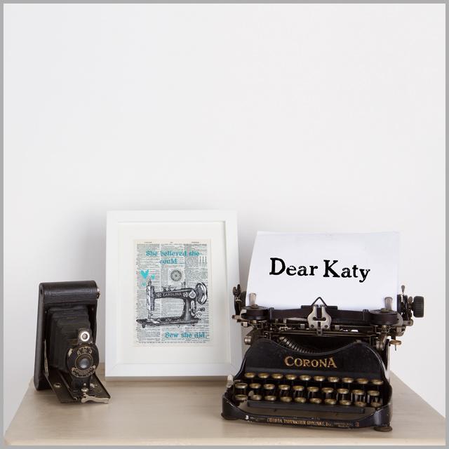 Dear Katy…