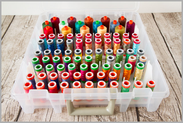 Organising Your Sewing Supplies – Part 1