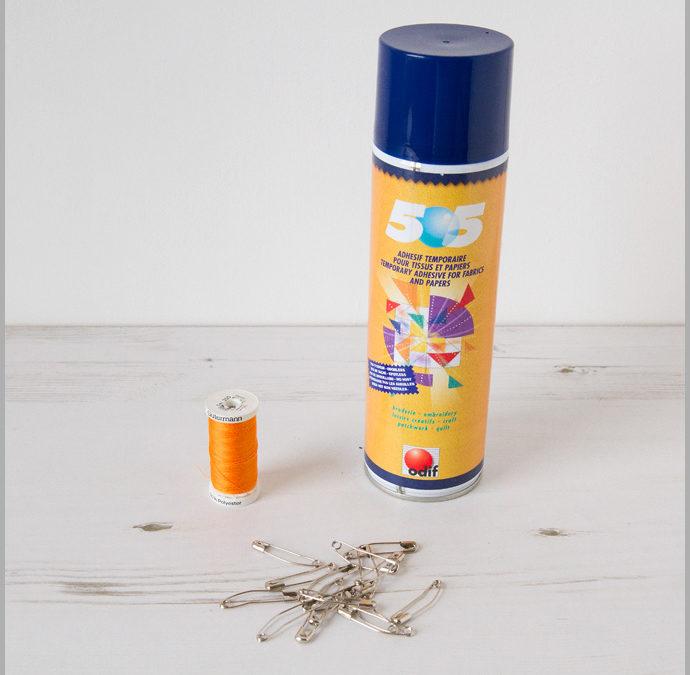 Quilt Making Basics – Basting, Pin It Or Spray It?