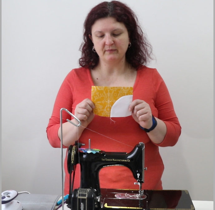 How To Sew Pinless Curves – Quilt Making Basics – Video